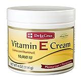 De La Cruz Vitamin E Cream 10,000 IU, Allergy Tested, No Artificial Colors, Made in USA 4 OZ. Review