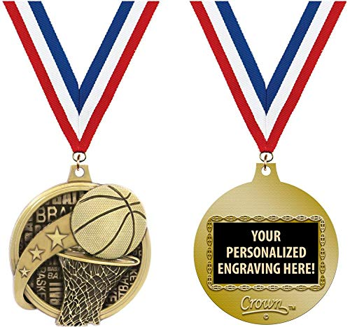 Crown Awards Custom Basketball Medals, 2