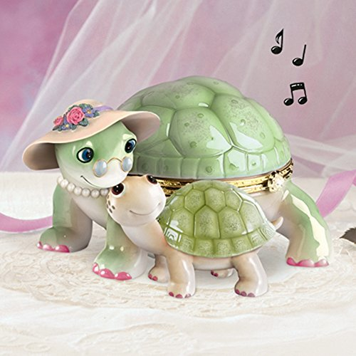 The Bradford Exchange Grandma's Little Sweetheart Joy Musical Figurine Collection