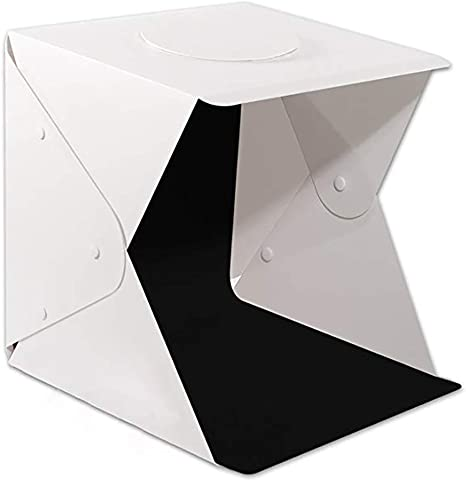SY&R Portátil Estudio fotográfico 40x40cm Caja de Luz Foldable ...