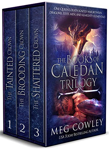 The Books of Caledan Trilogy: (An Epic Fantasy Collection: The Tainted Crown, The Brooding Crown, The Shattered Crown) (Best Adult Fantasy Novels)