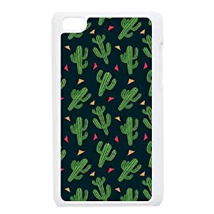 Customised iPod Touch 4 Case, CACTUS quote personalised Cover Case