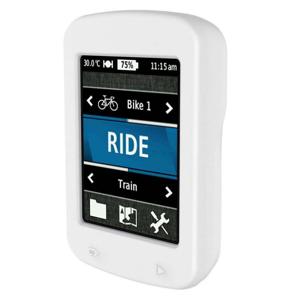 iRECOO-Silicone Protective Case For Garmin Edge 820 Bike GPS,Made of Silicone. White