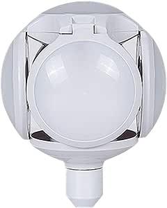 Uonlytech Foldable Light Bulb Cartoon Soccer Light Bulbs Decorative Football Safe Led Bulbs Foldable Lamp for Bar Room Christmas White (White Light No Stand)