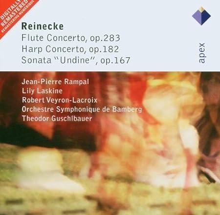 Reinecke : Flute Concerto, 'Undine' Sonata & Harp Concerto - Apex by Carl Reinecke (2005-10-10)