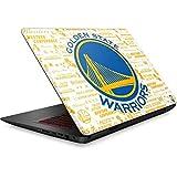 Skinit NBA Golden State Warriors Omen 15in Skin - Golden State Warriors Historic Blast Design - Ultra Thin, Lightweight Vinyl Decal Protection