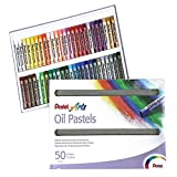 Pentel PHN4-50 Oil Pastels - Pack of 50
