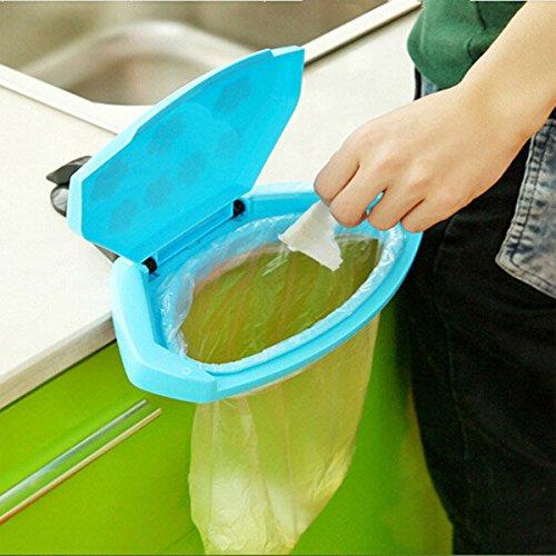 Trash Suitcase - Plastic Rubbish Garbage Bag Holder Rack Kitchen Bathroom - Trumpery Pocket Applesauce Bagful Wish-Wash Pocketbook Udder Folderol Purse Tripe Handbag Traveling Cup - 1PCs