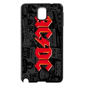 High Quality Phone Back Case Pattern Design 19AC/DC,Rock Band Series- For Samsung Galaxy NOTE3 Case Cover