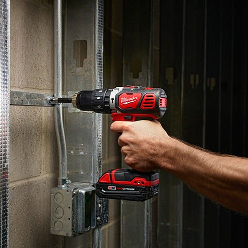 Milwaukee M18 Compact 1/2'' Hammer Drill/Driver Kit (2607-22CT) by Milwaukee Electric Tool (Image #7)