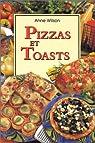 Pizzas et toasts par Wilson