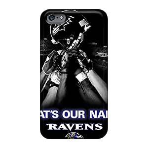 LeoSwiech Apple Iphone 6 Scratch Resistant Hard Cell-phone Case Provide Private Custom High Resolution Baltimore Ravens Image [Bpi17482IaQu]