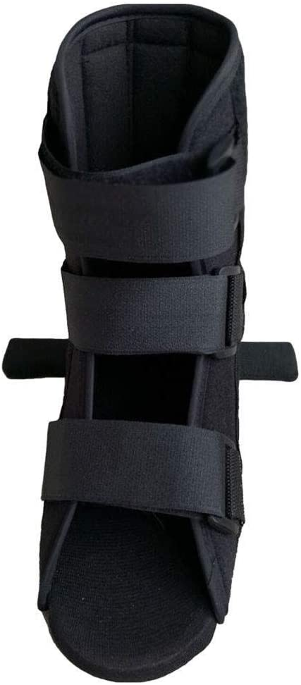 Almohadilla de soporte Walker Boot Fracture Aircast, bota ortopédica for pie roto, fractura de tobillo, estabilizador de pie S Tirantes