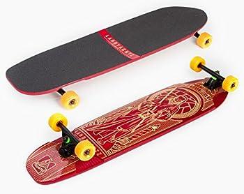 Landyachtz Osteon Red Downhill Longboard