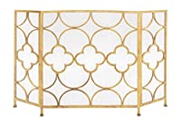 Deco 79 Metal Fireplace Screen, 50 by 35...