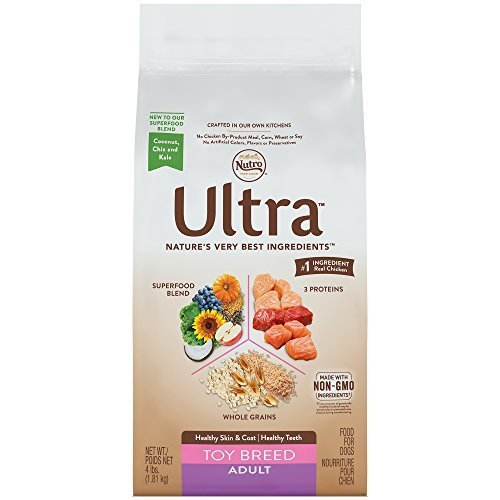 Nutro ULTRA Toy Breed Adult Dry Dog Food, 4 lbs. by Nutro