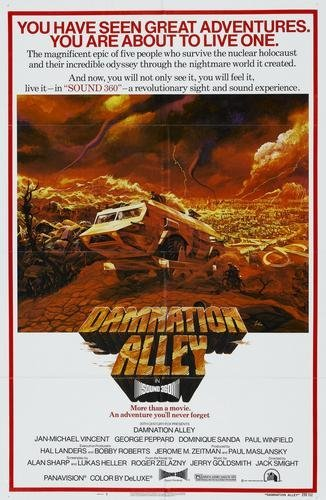 Damnation Alley Movie Poster 11x17 Master Print