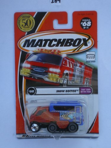Matchbox 2002-68/75 Kids' Cars Of The Year Snow Doctor 50 Years 1:64 Scale