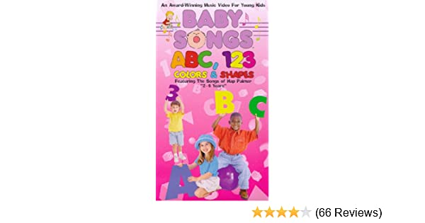 Amazoncom Babysongs Abc 123 Colors Shapes Vhs Baby