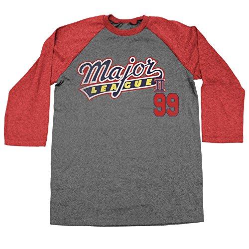 La Film Raglan shirt 4 Tee Comédie Ligue De Major Vaughn Manches Classics Homme Sportive American 2 99 Mars Côtés Pour YqARx