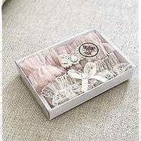 Wedding Garter Belt Set with Rhinestone Vintage Style
