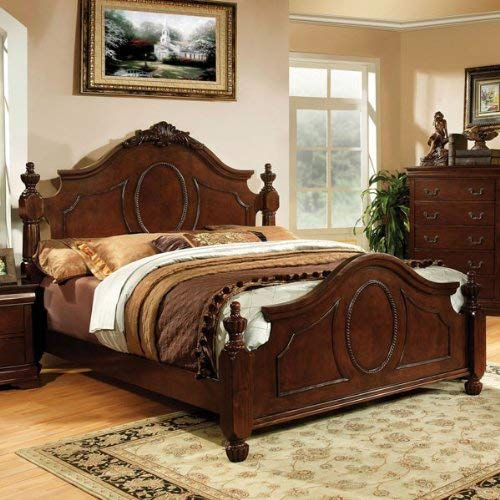 24/7 Shop at Home 247SHOPATHOME IDF-7952Q Poster Bed, Queen, ()