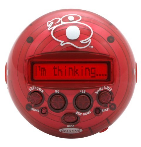 20Q 2.0 20 Questions Handheld Game - Red 20 Questions Electronic Game