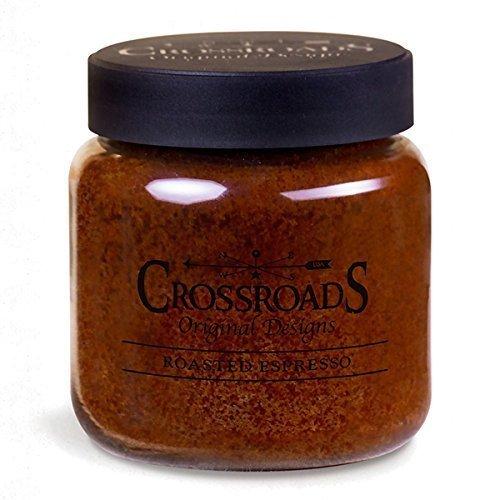 Crosroads Candle, Roasted Espresso, 16 Ounce