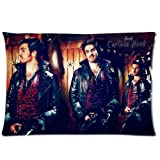 Once Upon A Time Captain Hook Home Decorative Pillow Covers 20X30 Inch 2 Sides Printed Soft Cotton Pillowcases