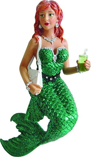 December Diamonds Soda Mermaid Ornament