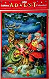 Best Value Christmas Advent with Glitter and Toys for Kids with Santa with Toys Xmas Perfect Holiday Gift Imported {jg} For mom, dad, sister, brother, grandma, friend, gay