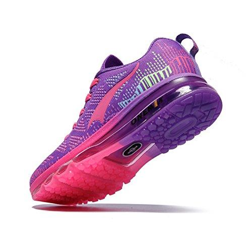 Sport Trail Shoes Women's Purple Running And Cushion Onemix Air Men's Lightweight Casual ByR0pYYwq