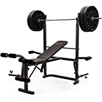 Proflex B300 Weight Bench Press with Leg Curl