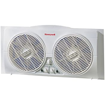Amazon Com Honeywell Hw 628 Enviracaire Twin Window Fan