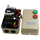 Uxcell a12022000ux0326 24V AC Coil Contactor 15 HP 3 Three Phase Magnetic Starter Motor Control 14-22A