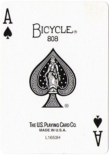 Bicycle Playing Card Force Deck Blue Back (Spades, Ace)