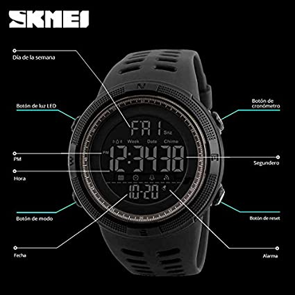5ccb91bd033b SKMEI Reloj para Hombre