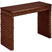 Home Styles Cabana Banana II Console Table, Cinnamon Finish