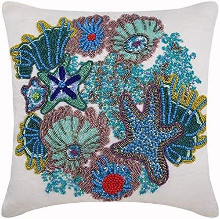 Azul Fundas para Cojines 50 x 50 cm, Sabana de algodon Fundas para Cojines, Azul Fundas para Cojines - Under The Ocean: Amazon.es: Hogar