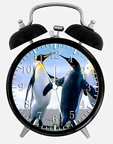 (Cute Penguin Alarm Desk Clock 3.75