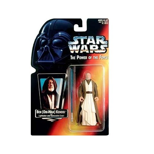Star Wars: Power of the Force Red Card > Ben (Obi-Wan) Kenobi with Long Lightsaber Action Figure