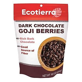 EcoTierra Dark Chocolate-Covered Goji Berries