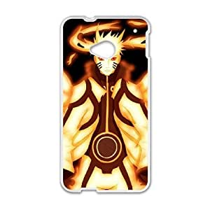 HTC One M7 phone cases White Naruto Phone cover KLW4134326