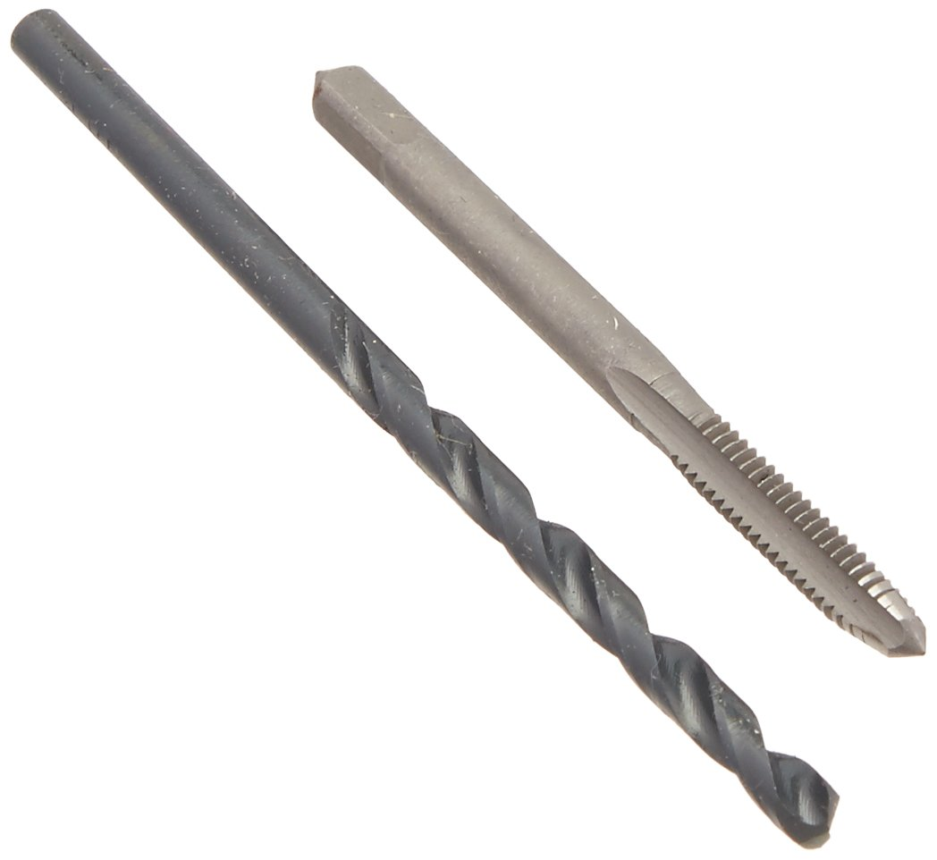 Vermont American 21662 8 Inch 32 NC Number 29 High Carbon Steel Tap and Drill Bit Combo Set