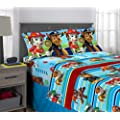 Nickelodeon Paw Patrol Puppy Hero Sheet Set