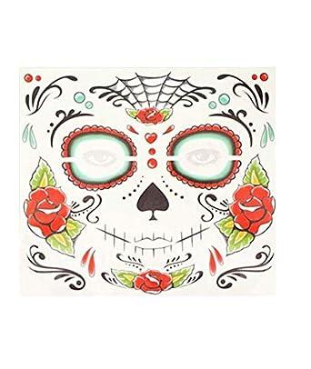 Partylandia Tatuaje FX Catrina Roja - Halloween, Maquillaje ...