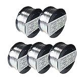 ER4043 .030' .035' 3/64' 1-LB Aluminum Welding MIG Wire (5EA-.030' 1LB)