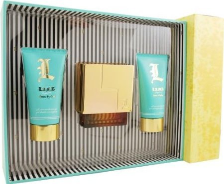 - L Lamb By Gwen Stefani For Women Eau De Parfum Spray 1.7 Oz & Body Lotion 2.5 Oz & Shower Gel 2.5 Oz