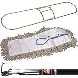 "O-Cedar JAN135 Deluxe Pretreated Dust Mop Kit, 48"" (Pack of 2)"