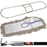 O-Cedar JAN134 Deluxe Pretreated Dust Mop Kit, 36'' (Pack of 2)